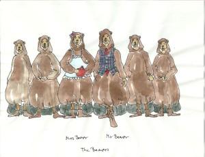 sketch beavers