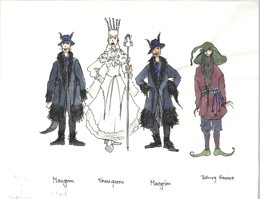 Narnia Costume Sketches  sc 1 st  EES PTO & Narnia Costume Sketches | EES PTO